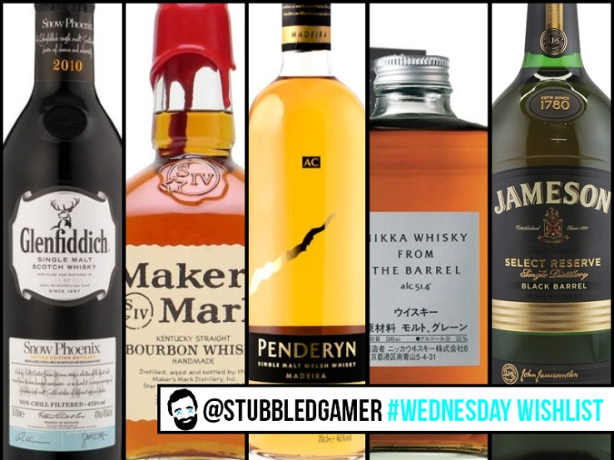 Wednesday WishList whiskey